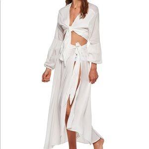 Malai White Belen Top & White Rommy Skirt